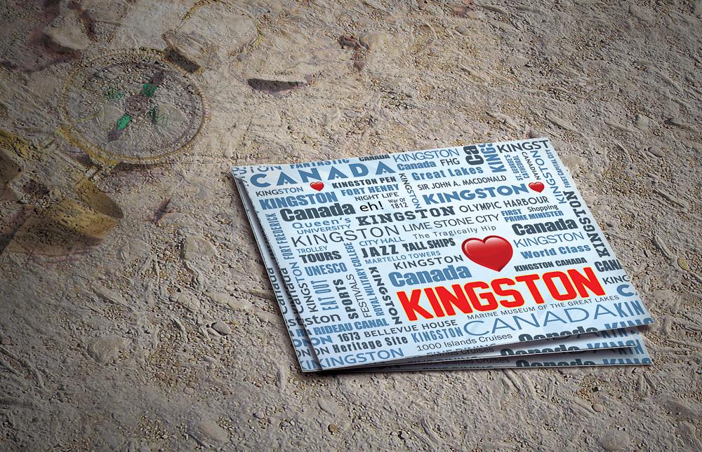 Home stickers souvenir stickers kingston